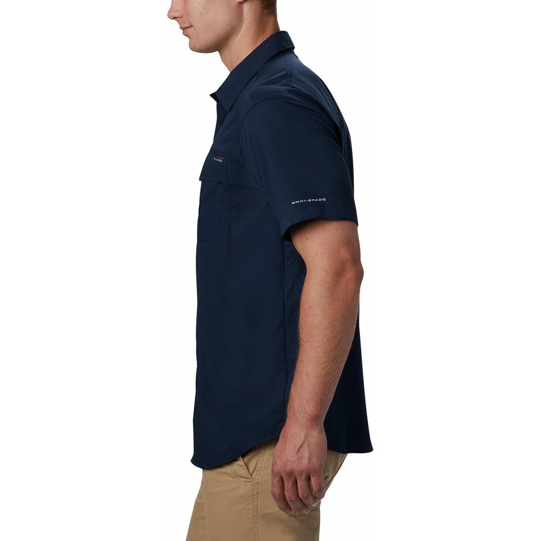 חולצה קצרה לגברים - Silver Ridge Lite S/S Shirt - Columbia