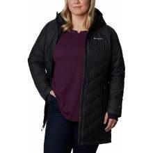 מעיל מבודד במידות גדולות לנשים - Heavenly Long Hooded Plus - Columbia