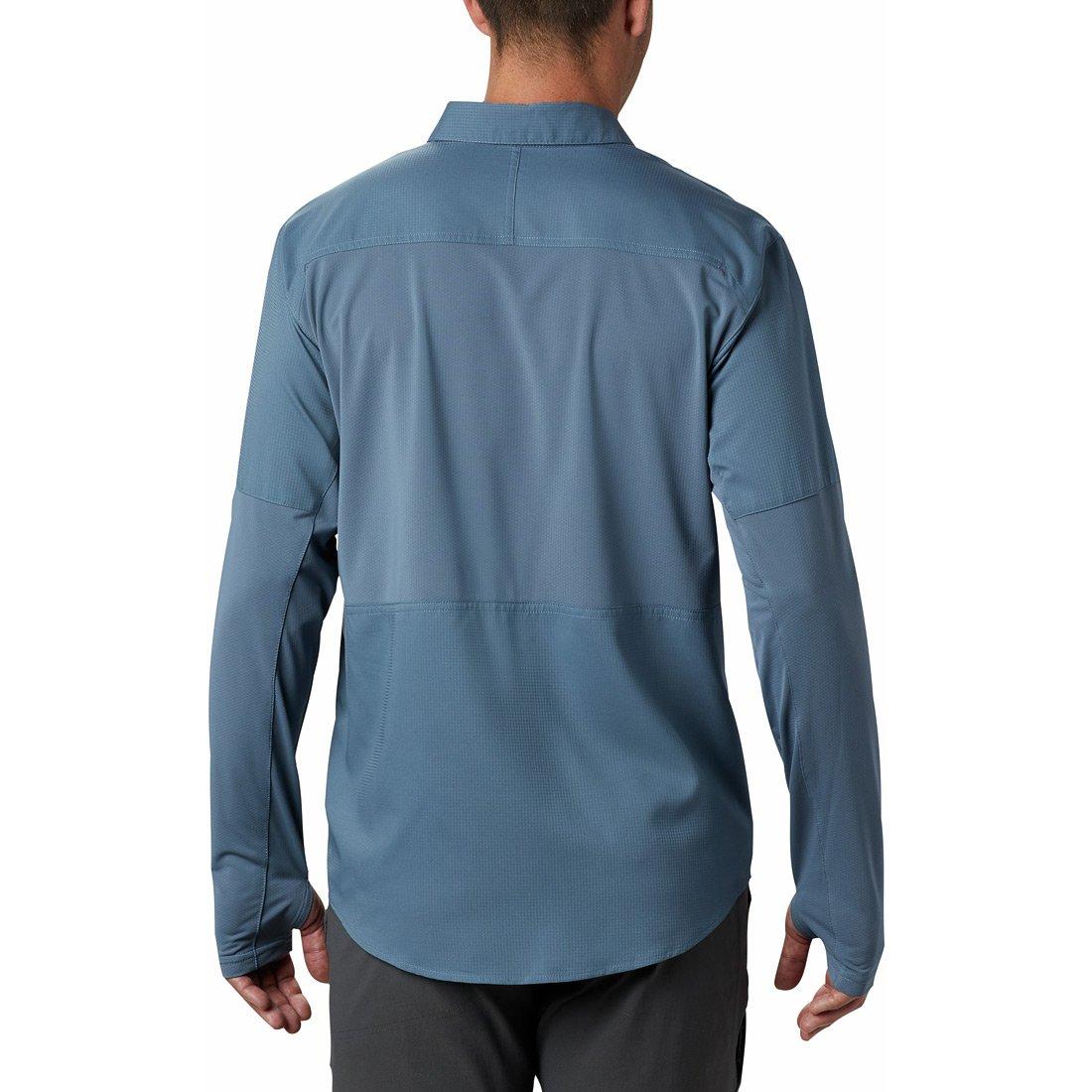 חולצה ארוכה לגברים - Silver Ridge Lite Hybrid - Columbia