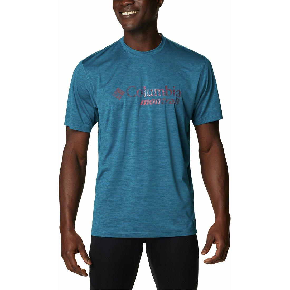 חולצה לגברים - Trinity Trail Graphic  T - Columbia Montrail