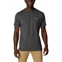חולצה קצרה לגברים - Tech Trail Crew Neck - Columbia