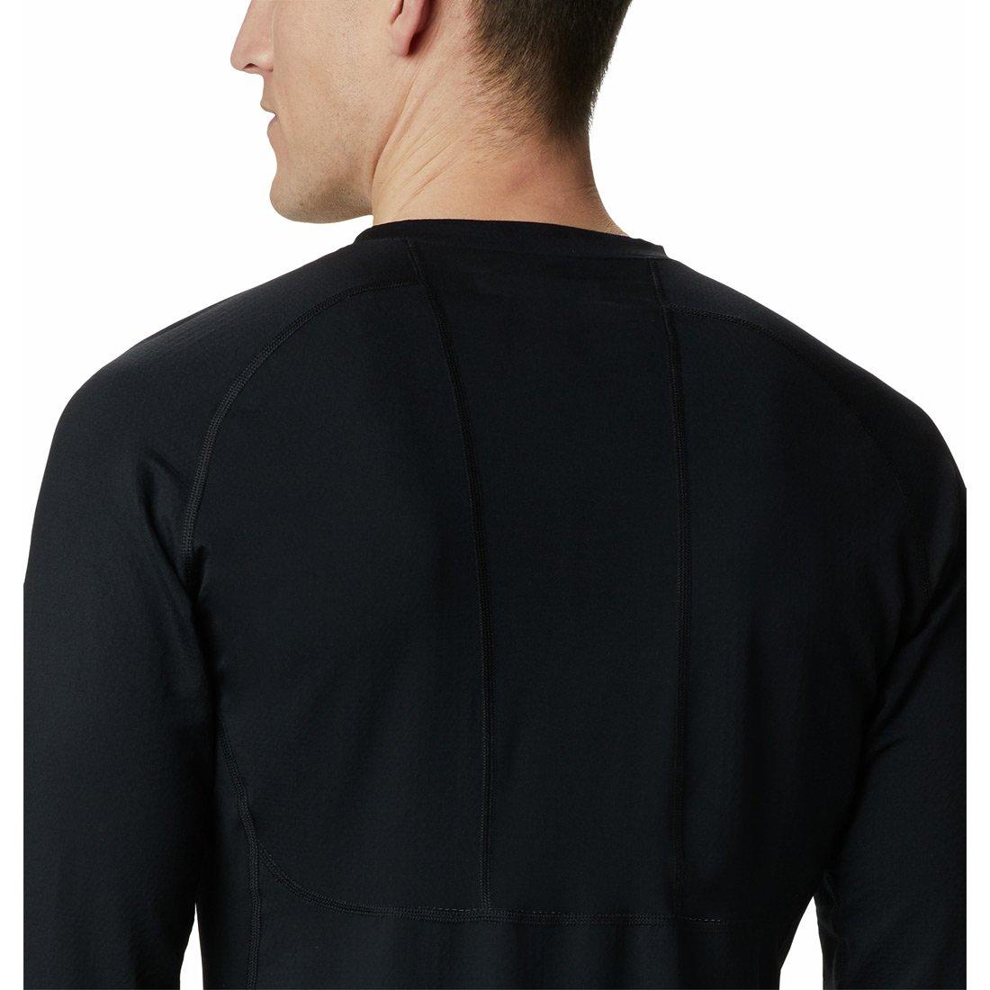 חולצה תרמית ארוכה לגברים - Omni-Heat 3D Knit Crew II - Columbia