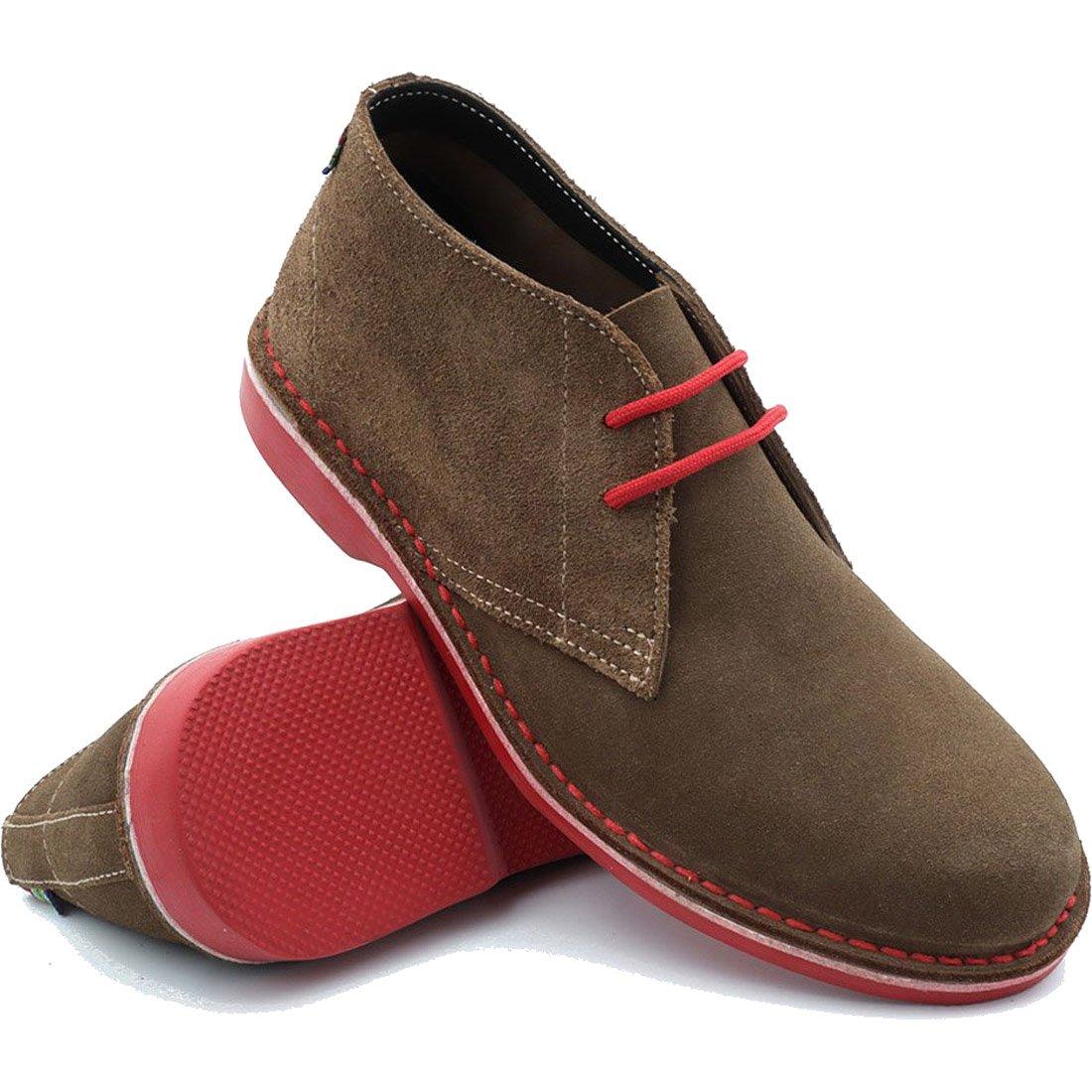 נעלי יוניסקס - Heritage Red - veldskoen