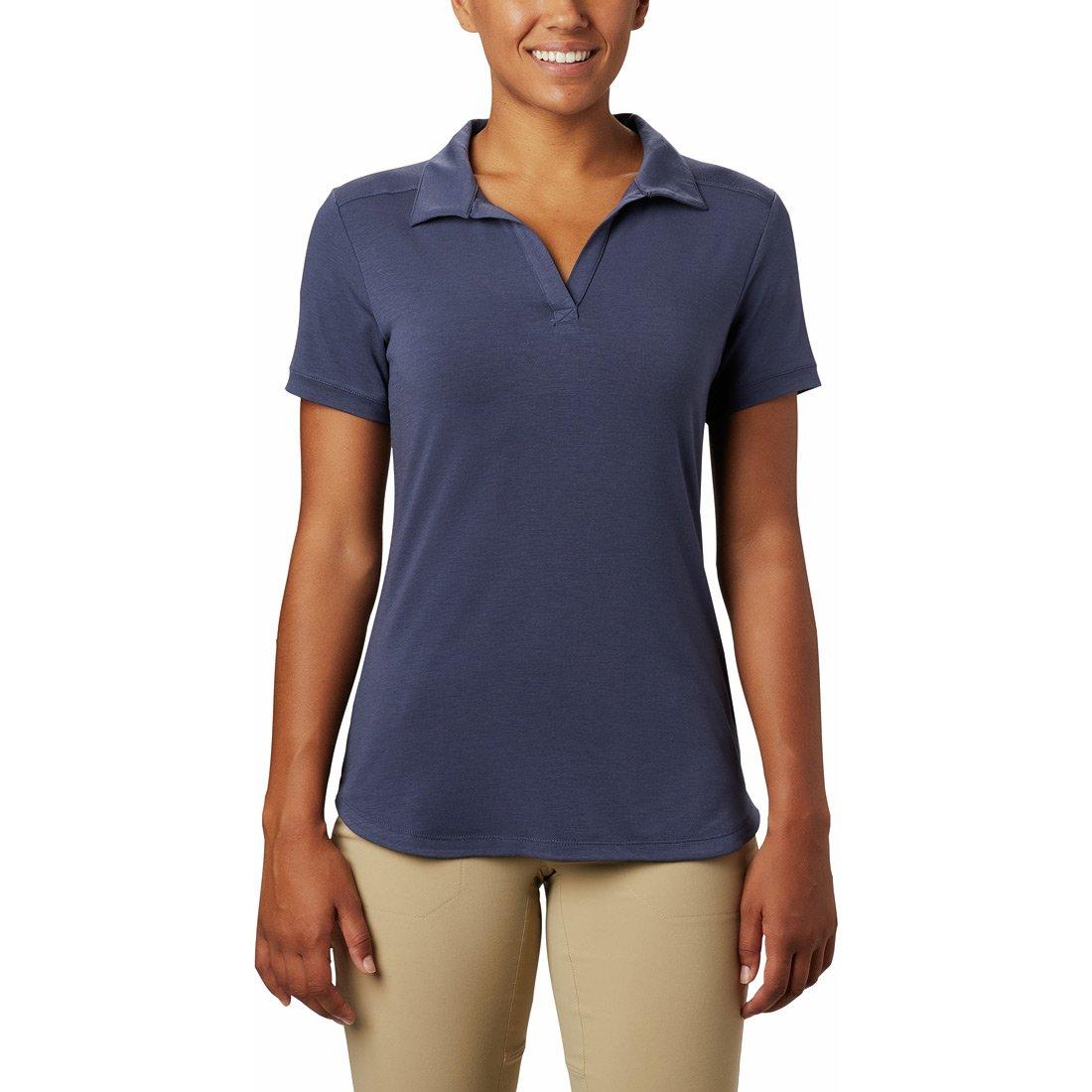 חולצת פולו לנשים - Essential Elements Polo - Columbia
