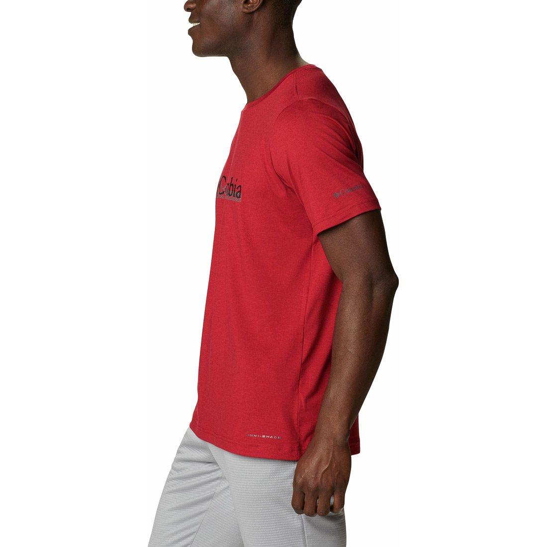 חולצה קצרה לגברים - Tech Trail Graphic T - Columbia