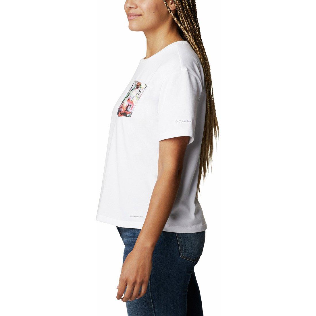 חולצה לנשים - Alpine Way Pocket S/S T - Columbia