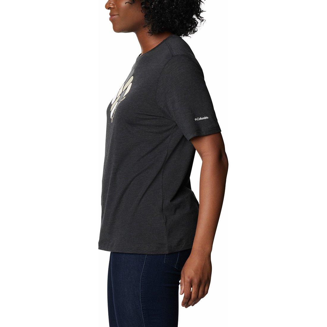 חולצה קצרה לנשים - Bluebird Day Relaxed Crew - Columbia