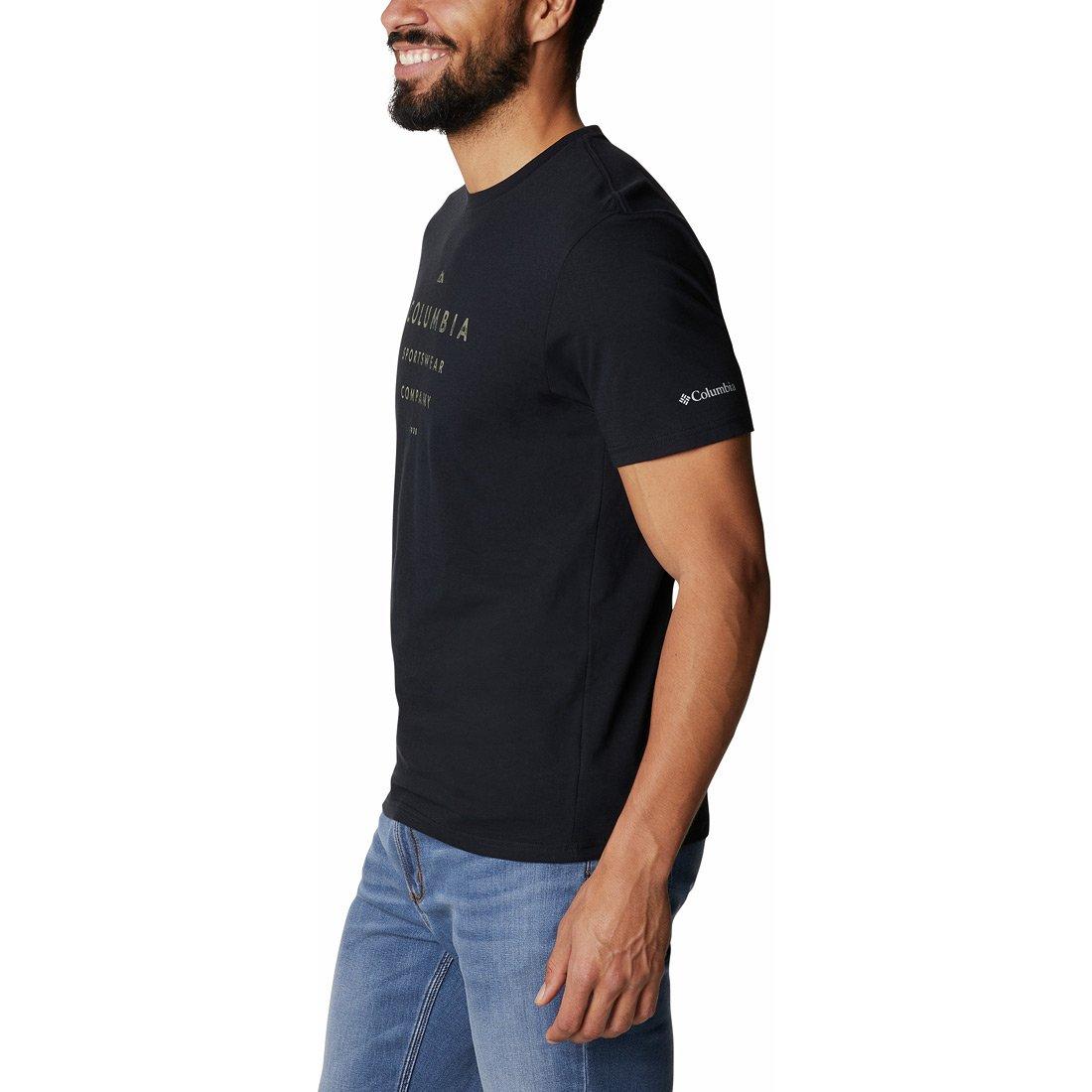 חולצה לגברים - Path Lake Graphic T II - Columbia