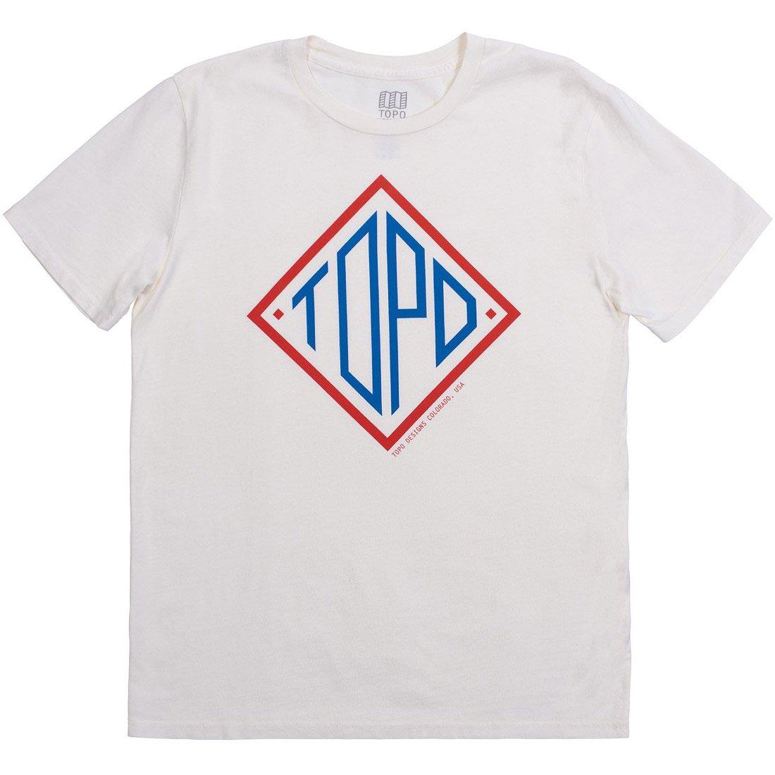 חולצה לגברים - Diamond Tee - Topo Designs