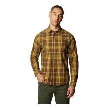 חולצה ארוכה לגברים - Rogers Pass Long Sleeve - Mountain Hardwear