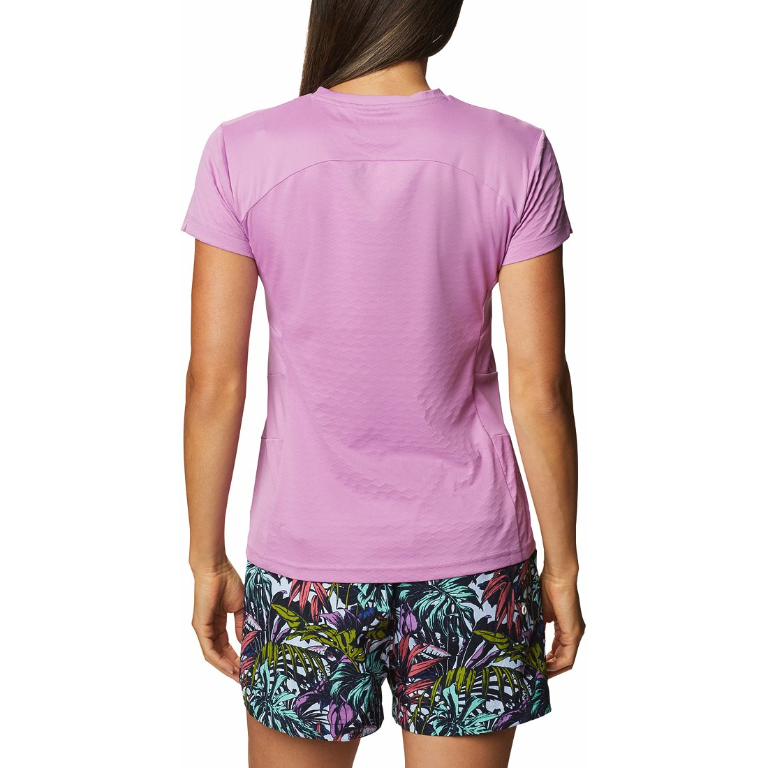 חולצה קצרה לנשים - W Zero Ice Cirro-cool S/S - Columbia