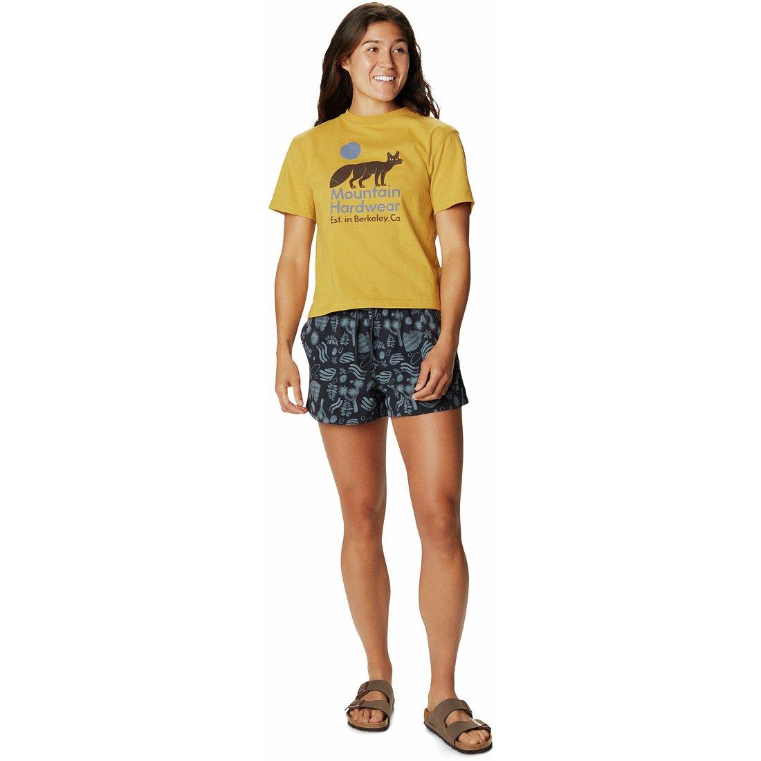 מכנס קצר לנשים - Printed Stryder Swim - Mountain Hardwear