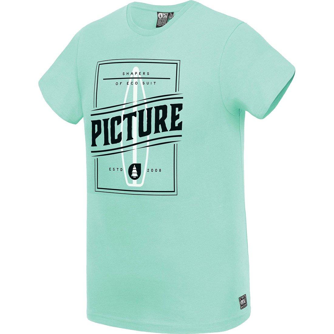חולצה קצרה לגברים - Byron Tee - Picture Organic