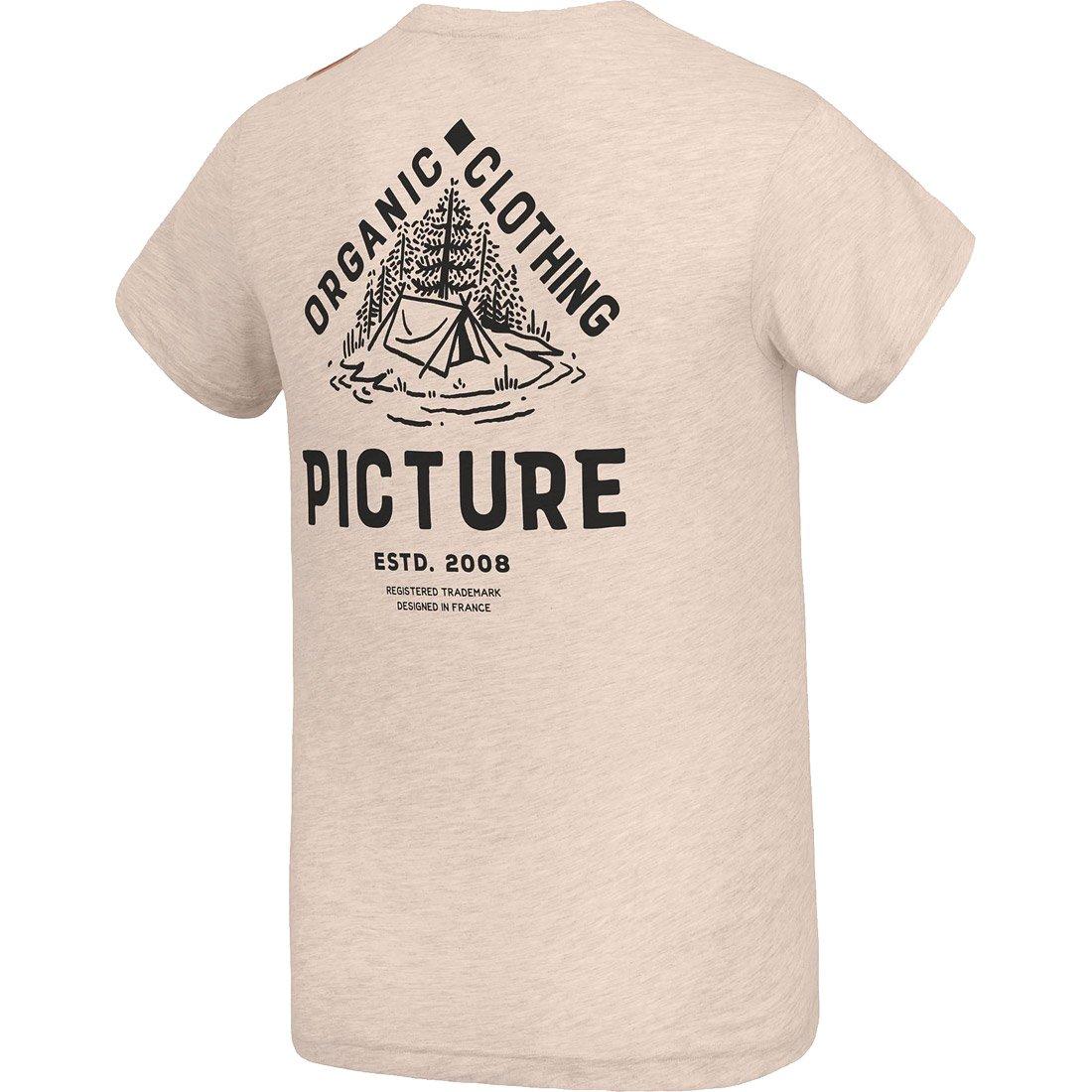 חולצה קצרה לגברים - Carson Tee - Picture Organic