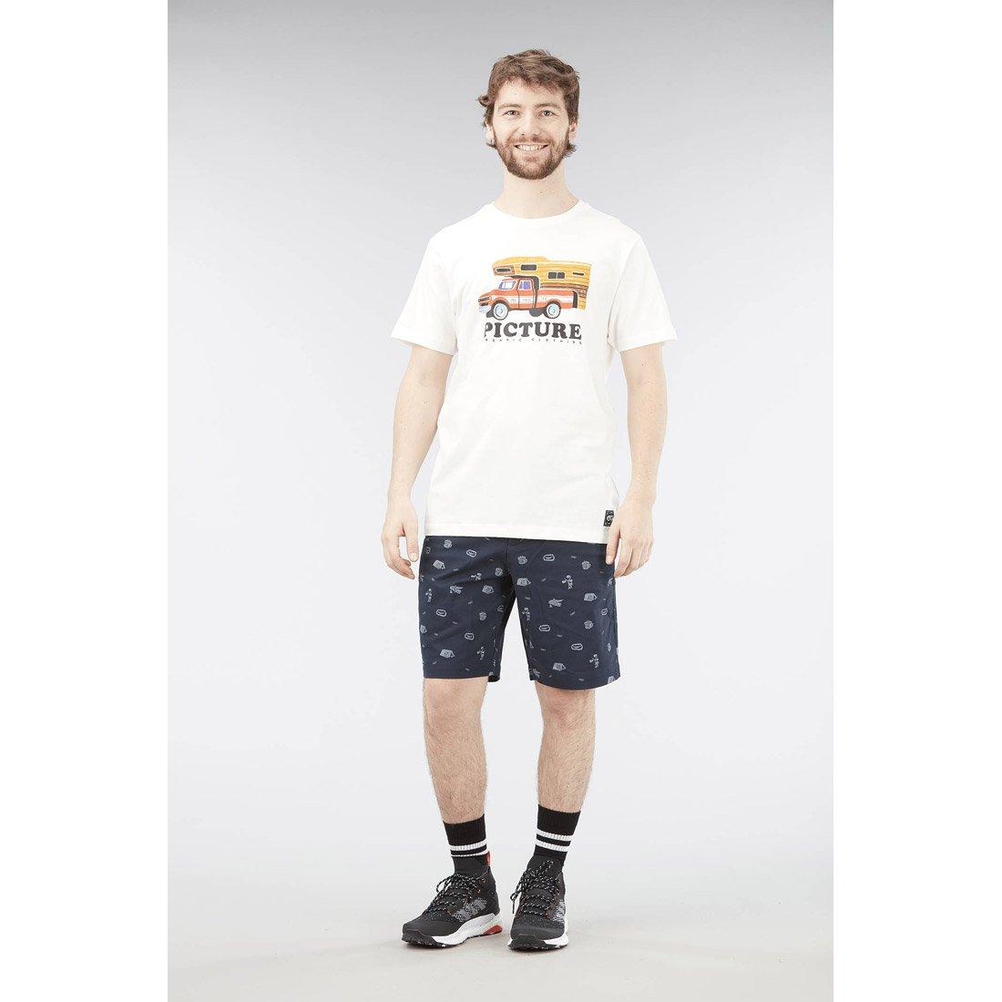 חולצה קצרה לגברים - Schmido Tee - Picture Organic