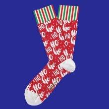 גרביים - Christmas - two left feet
