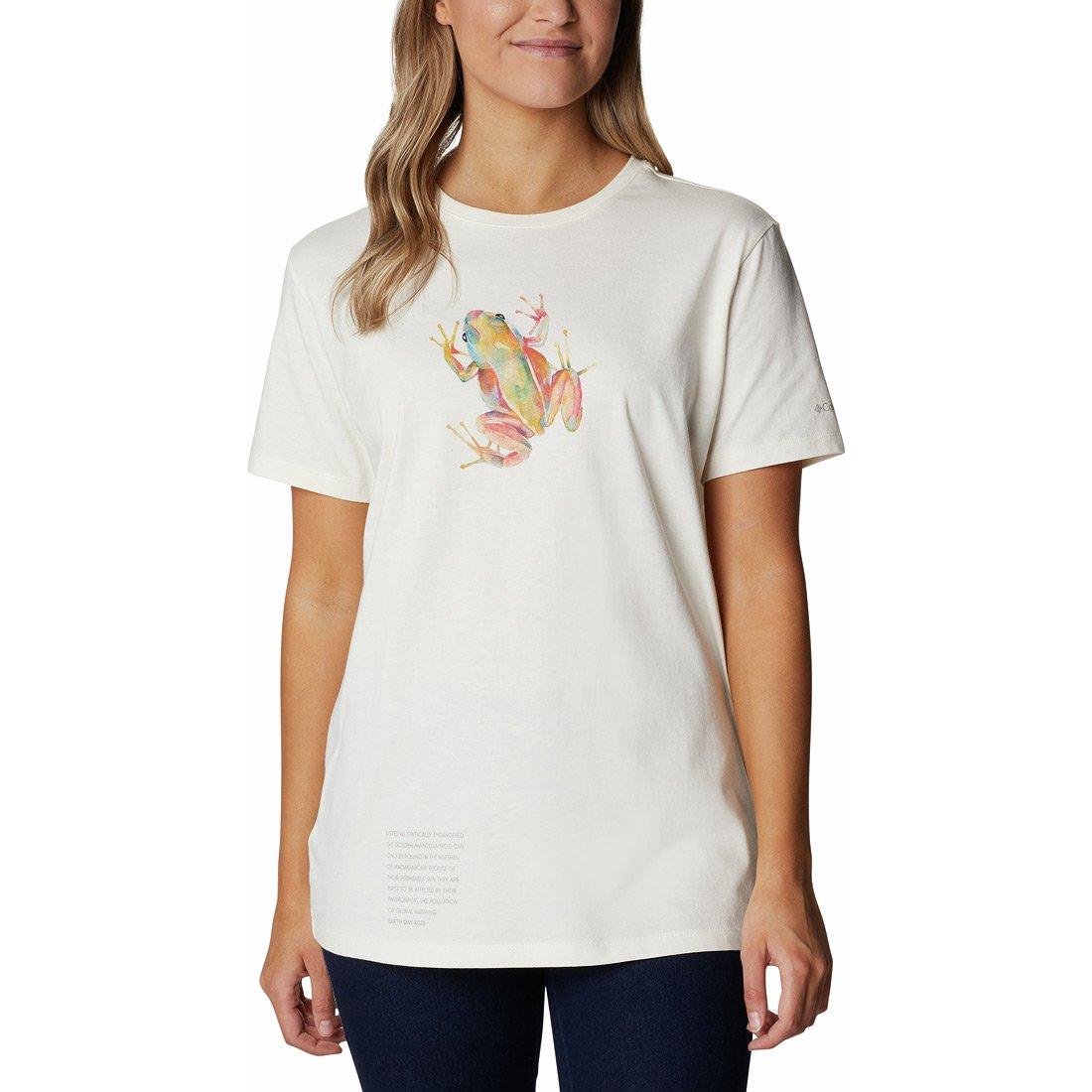 חולצה לנשים - Earth Day Graphic T - Columbia