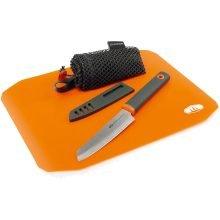 סט סכין וקרש חיתוך לשטח - Rollup Cutting Board Knife Set - GSI