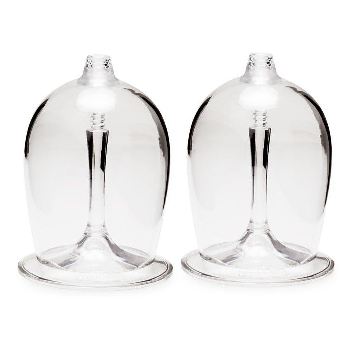 זוג כוסות יין לשטח - Nesting Wine Glass Set - GSI