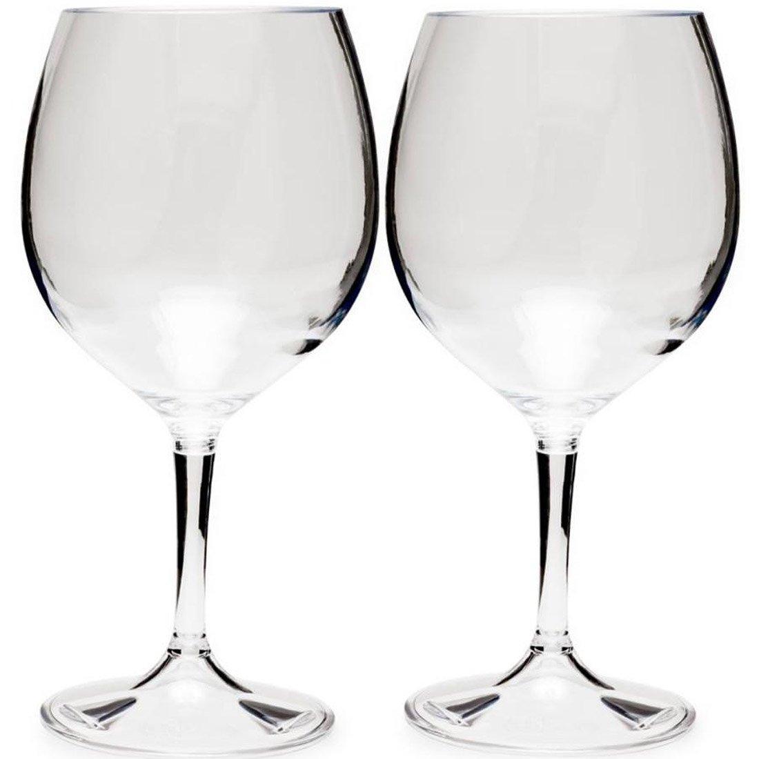 זוג כוסות יין אדום לשטח - Nesting Red Wine Glass Set - GSI