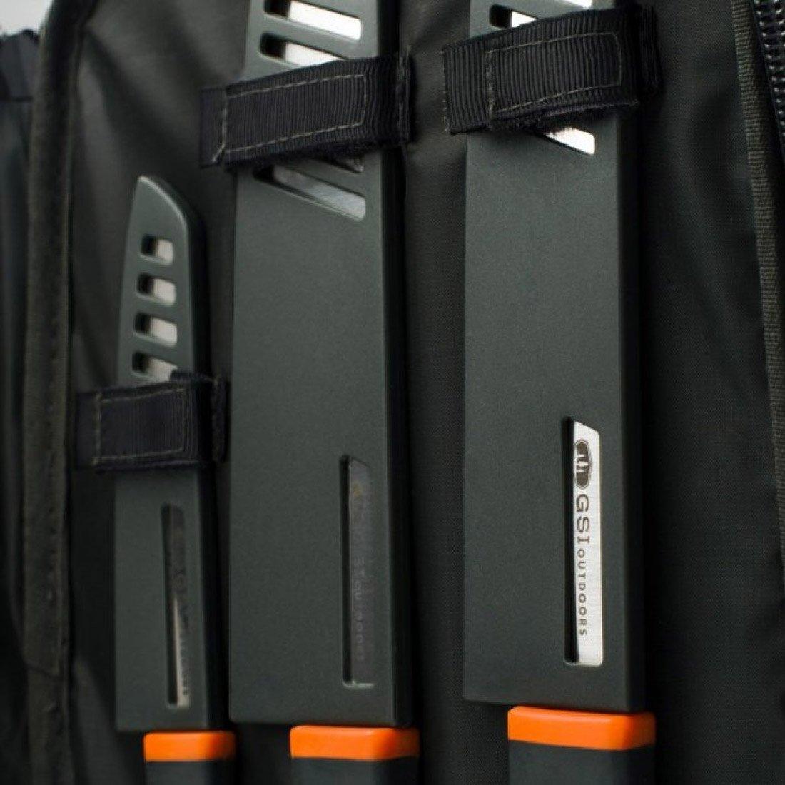 ערכת סכיני מטבח לשטח - Santoku Knife Set - GSI