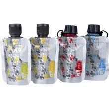 סט 4 מכלים גמישים לרטבים - Soft Sided Cond Bottle Set 60ml - GSI