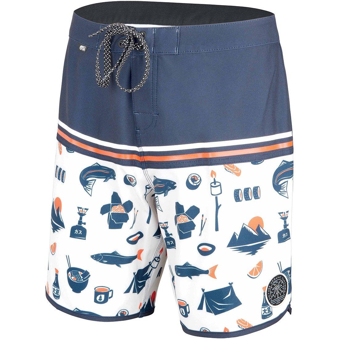 מכנסיי חוף לגברים - Andy 17 Boardshorts - Picture Organic
