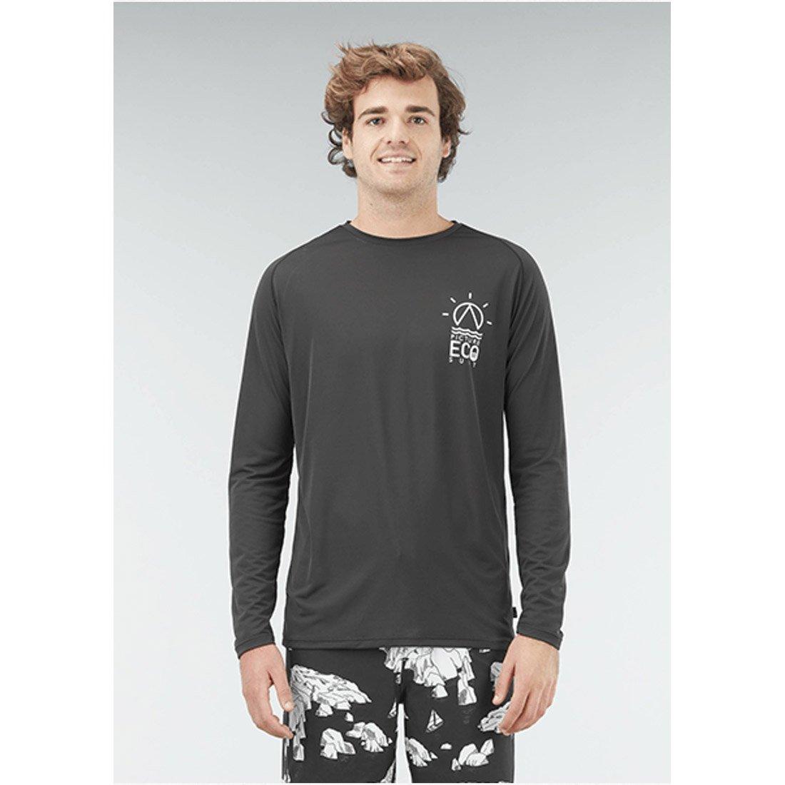 חולצת גלישה ארוכה - Damien L/S Surf Tee - Picture Organic