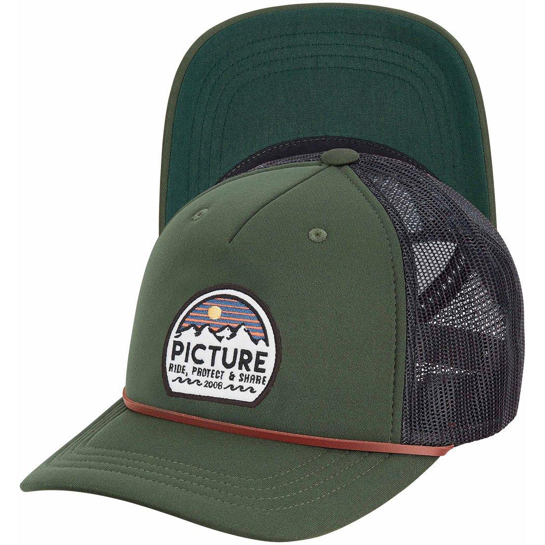 כובע מצחייה - Kuldo Trucker Cap - Picture Organic