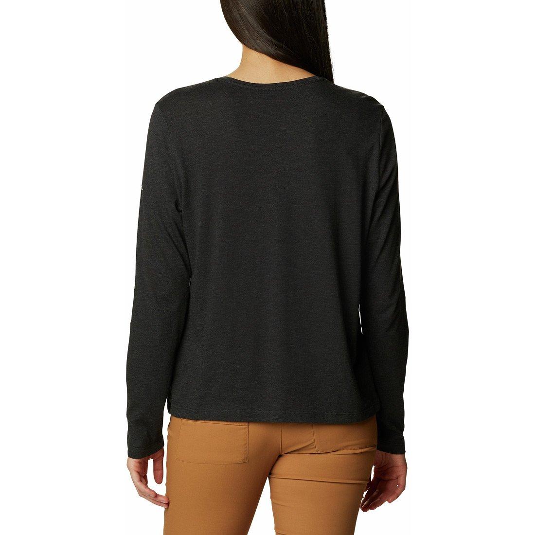 חולצה ארוכה לנשים - Columbia Trek Relaxed L/S T - Columbia