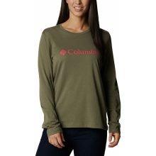 חולצה ארוכה לנשים - Columbia Lodge Relaxed L/S T - Columbia